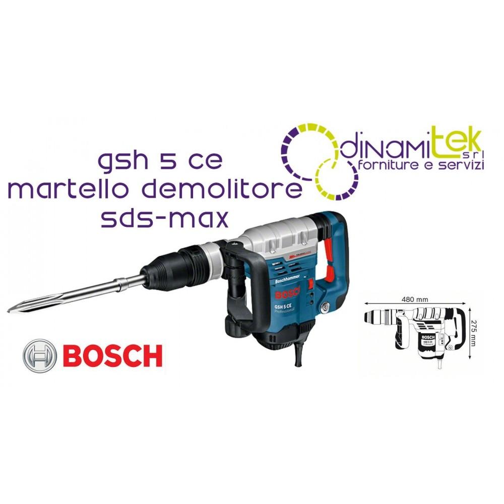 0.611.321.000 GSH 5 CE MARTELLO DEMOLITORE ATTACCO SDS-MAX BOSCH Dinamitek 1