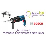 HAMMER DRILL SDS-PLUS SET TIPS TRIBUTE GBH 2-24 D BOSCH Dinamitek 1