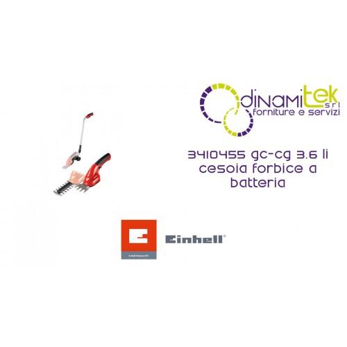 DE CISAILLEMENT, DES CISEAUX, DE LA BATTERIE 3410455 GC-CG 3.6 LI EINHELL Dinamitek 1
