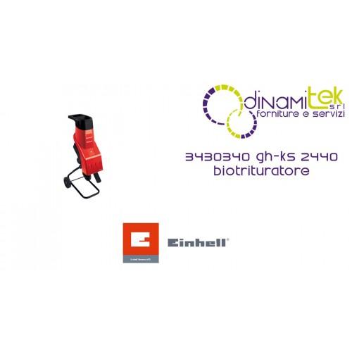 BIOTRITURATORE 3430340 GH-KS 2440 EINHELL Dinamitek 1