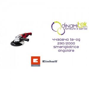 SMERIGLIATRICE ANGOLARE 4430840 TE-AG 230/2000 EINHELL Dinamitek 1