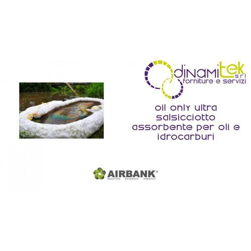 SALSICCIOTTO ASSORBENTE AIRBANK PER OLI E IDROCARBURI SERIE OIL ONLY ULTRA Dinamitek 1