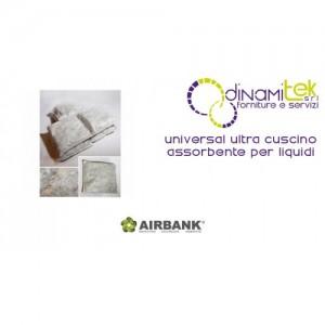 CUSCINO ASSORBENTE AIRBANK PER LIQUIDI SERIE UNIVERSAL ULTRA Dinamitek 1
