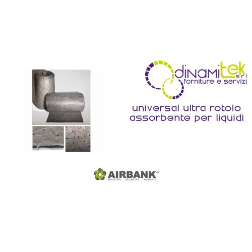 ROULEAU ABSORBANT AIRBANK POUR LES LIQUIDES DE LA SéRIE UNIVERSAL ULTRA Dinamitek 1