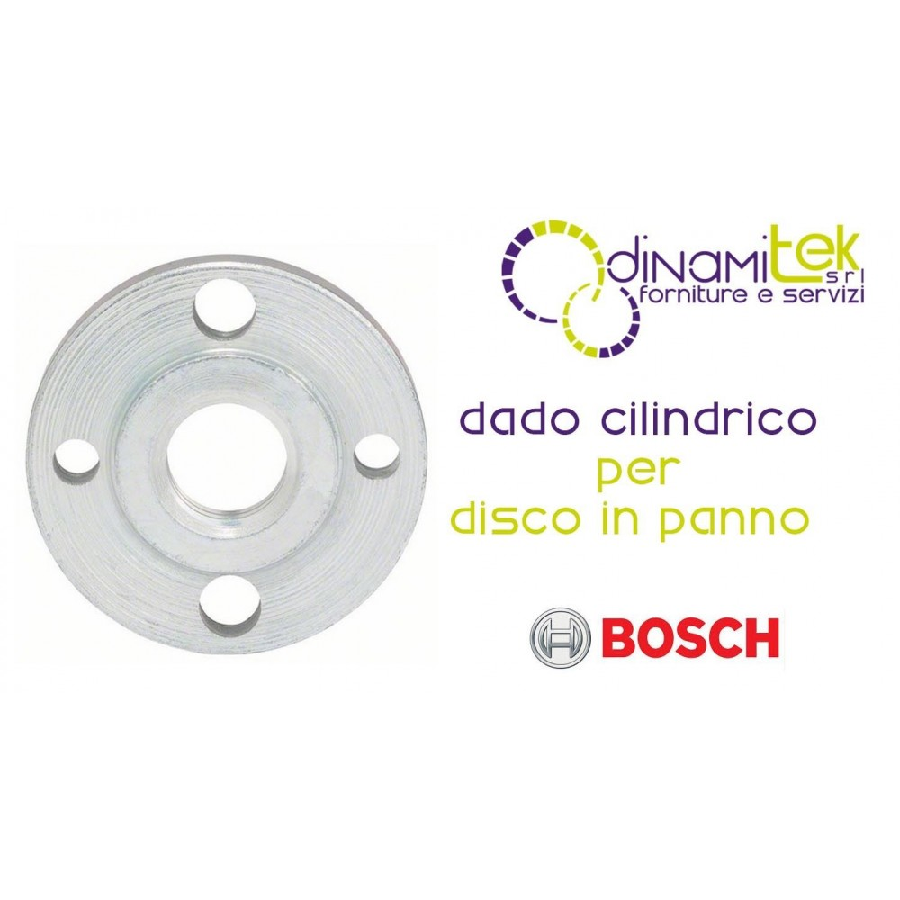 1.603.340.015-000 NUT, CYLINDRICAL TO DISK-CLOTH BOSCH Dinamitek 1