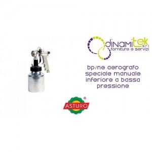 AEROGRAFO SPECIALE BP/NE ASTURO MANUALE INFERIORE A BASSA PRESSIONE Dinamitek 1