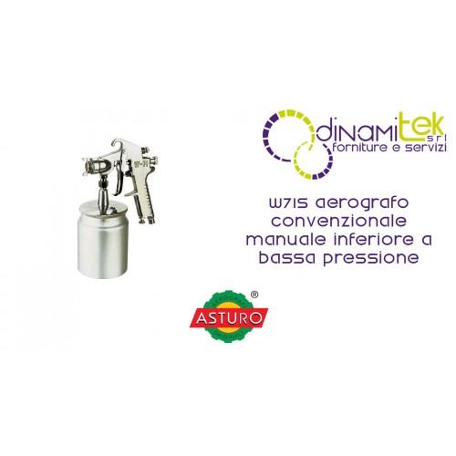AERóGRAFO MANUAL CONVENCIONAL INFERIOR DE BAJA PRESIóN W71S ASTURO Dinamitek 1
