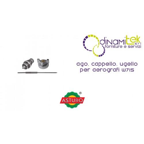 AGO CAPPELLO UGELLO ASTURO PER AEROGRAFI W71S Dinamitek 1