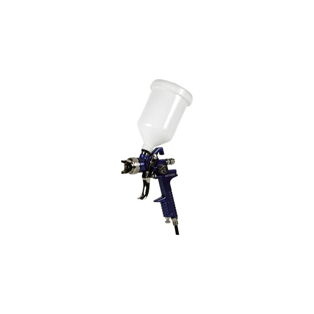 AEROGRAFO H-827 ASTURO CONVENZIONALE MANUALE SUPERIORE A BASSA PRESSIONE Dinamitek 2