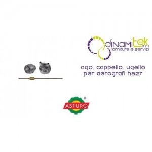 AGO CAPPELLO UGELLO ASTURO PER AEROGRAFI H827 Dinamitek 1