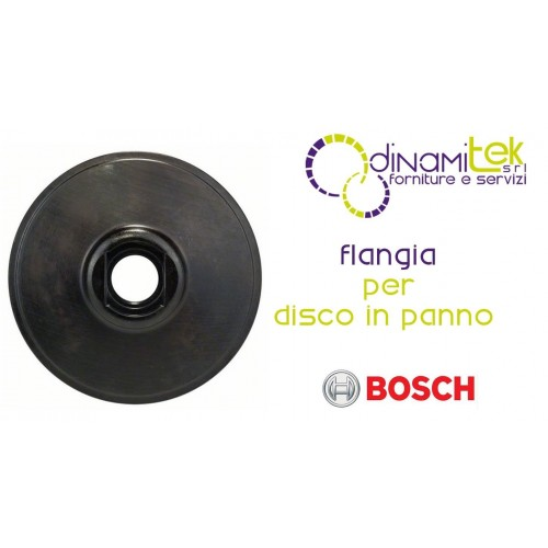 1.605.703.028-000 FLANGE FOR THE DISK IN THE CLOTH BOSCH Dinamitek 1