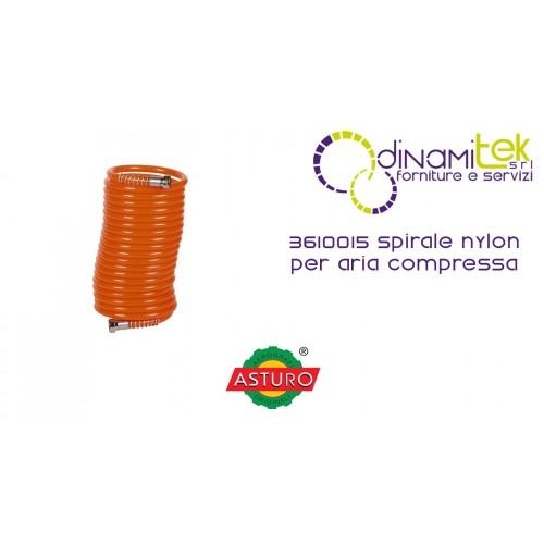 ESPIRAL DE NYLON PARA AIRE COMPRIMIDO 3610015 ASTURO Dinamitek 1
