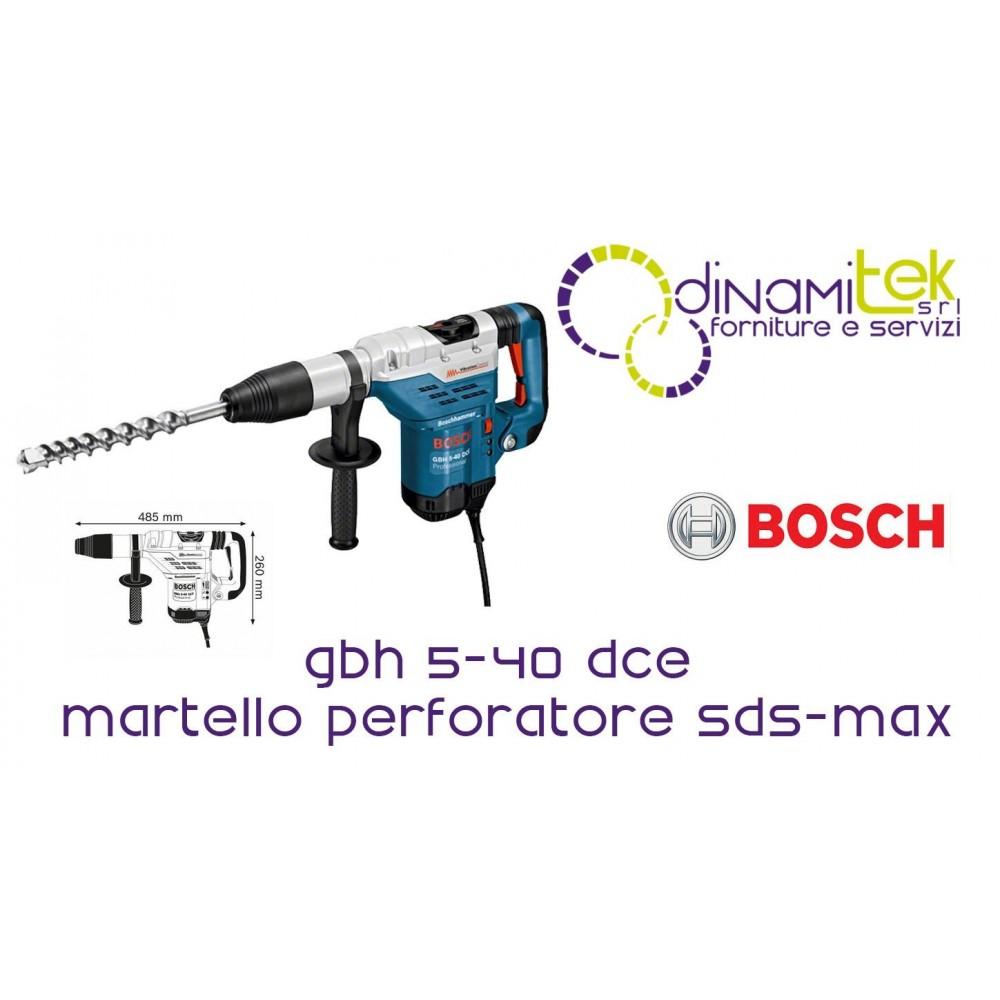 MARTEAU DE PUNCH ATTAQUE SDS-MAX GBH 5-40 DCE BOSCH Dinamitek 1