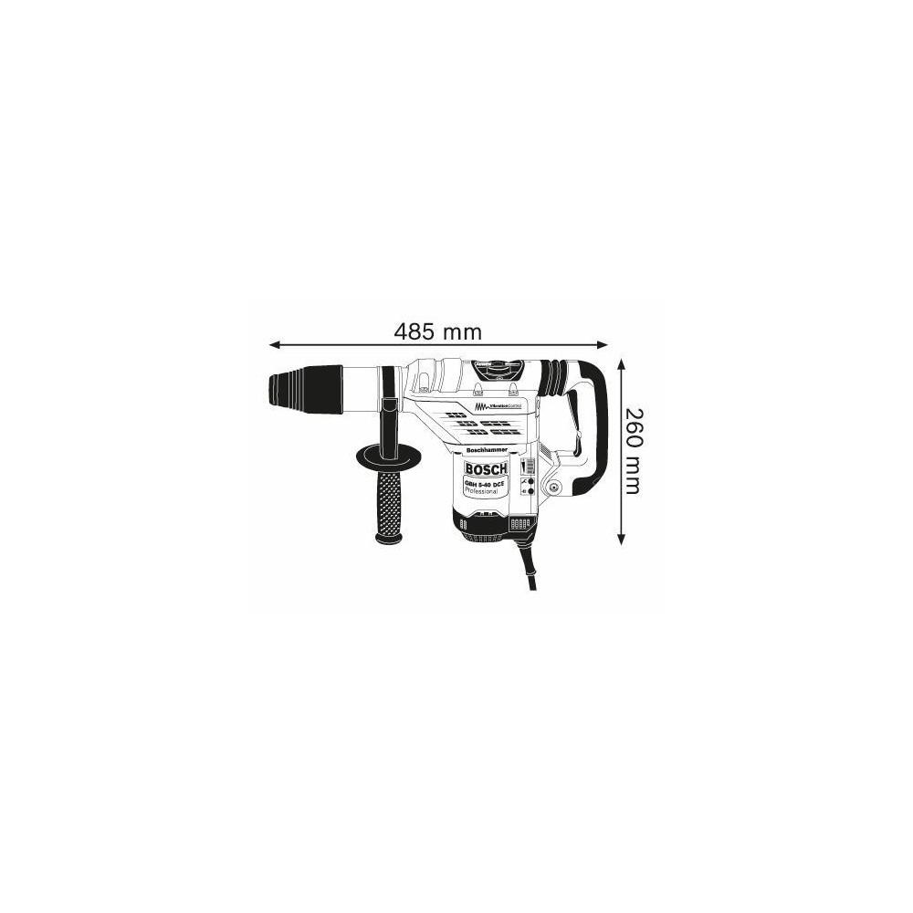 HAMMER PUNCH ATTACK SDS-MAX GBH 5-40 DCE BOSCH Dinamitek 3