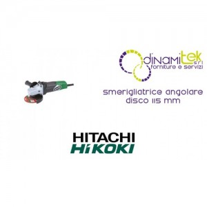 SMERIGLIATRICE ANGOLARE DISCO 115 mm G12-SA3 HIKOKI Dinamitek 1