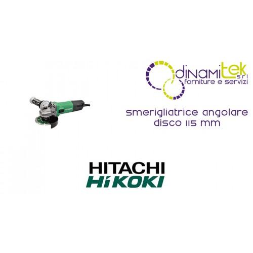 SMERIGLIATRICE ANGOLARE DISCO 115 mm G12-SW HIKOKI Dinamitek 1