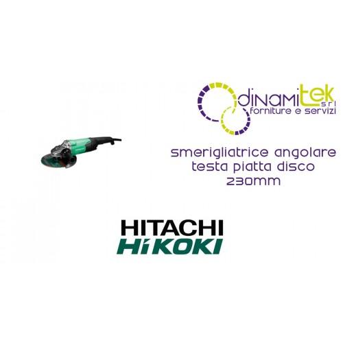 SMERIGLIATRICE ANGOLARE TESTA PIATTA DISCO 230 mm G23ST 230/2000 HIKOKI Dinamitek 1