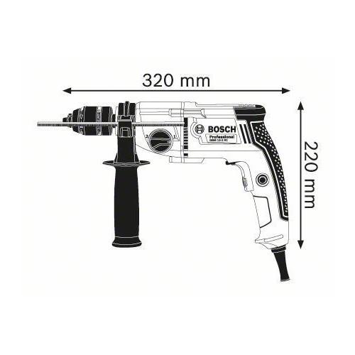 DRILL WIRE 750 WATT GBM 13-2 RE BOSCH Dinamitek 3