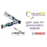 TRANSPORTADOR DE áNGULOS DIGITAL GAM 220 MF BOSCH Dinamitek 1
