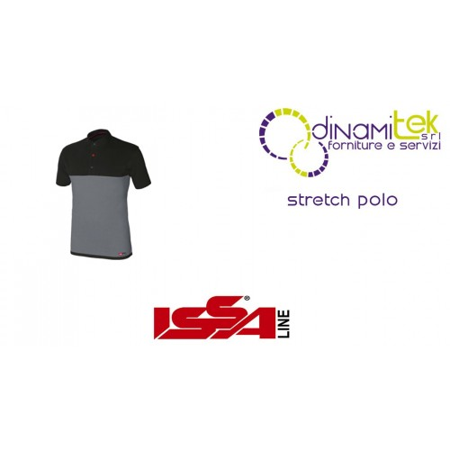 STRETCH POLO FROM WORK ISSA LINE Dinamitek 1