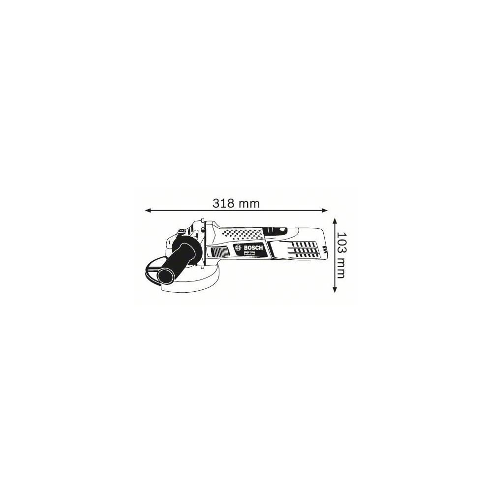 MEULEUSE D'ANGLE GWS 7-125 BOSCH Dinamitek 3