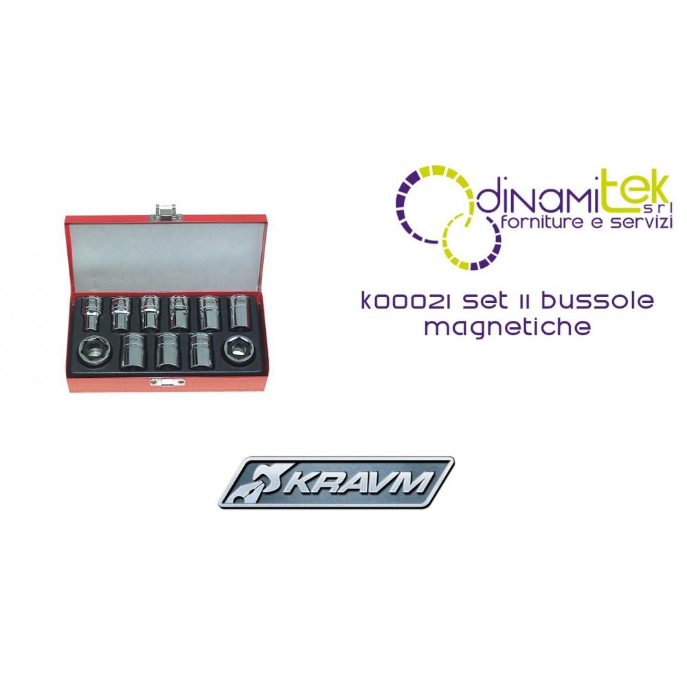 SET 11 BUSSOLE MAGNETICHE K00021 KRAVM Dinamitek 1