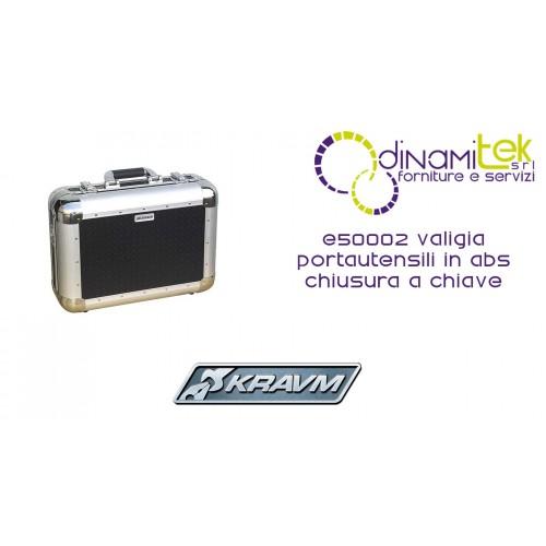 VALIGIA PORTAUTENSILI IN ABS CHIUSURA A CHIAVE E50002 KRAVM Dinamitek 1