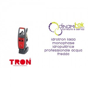 IDROTRON L1300 NETTOYANT TRON SEMI-PROFESSIONNEL DE LA SEULE PHASE DE L'EAU FROIDE à HAUTE Dinamitek 1