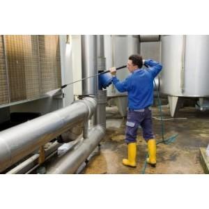 IDROTRON 200 CTN HIGH PRESSURE WASHER, TRON THREE-PHASE HOT WATER HIGH Dinamitek 12