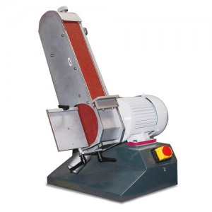 OPT054OP0075 - BELT SANDER AND DISC MODEL DBS 75 WITH THE ARM, THE GRINDING WHEEL SWIVEL - DISC DIAMETER 150 MM Dinamitek 4
