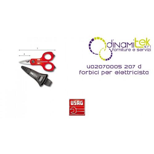 SCISSORS FOR ELECTRICIAN 207 D USAG Dinamitek 1