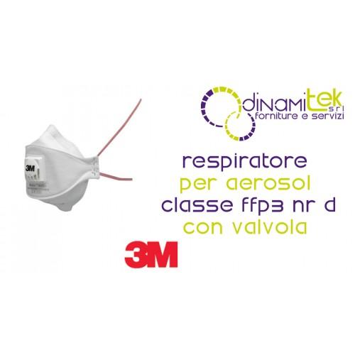 9332+ APPAREIL RESPIRATOIRE APPAREIL RESPIRATOIRE DE CLASSE FFP3 NR D, AVEC SOUPAPE 3M Dinamitek 1