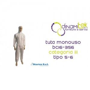 TUTA MONOUSO CATEGORIA III TIPO 5-6 STARTEX Dinamitek 1
