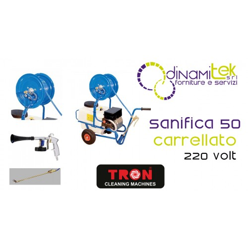 SANITIZES 50 SANIFICATORE WHEELED TRON Dinamitek 1