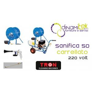 SANIFICA 50 SANIFICATORE CARRELLATO TRON Dinamitek 1
