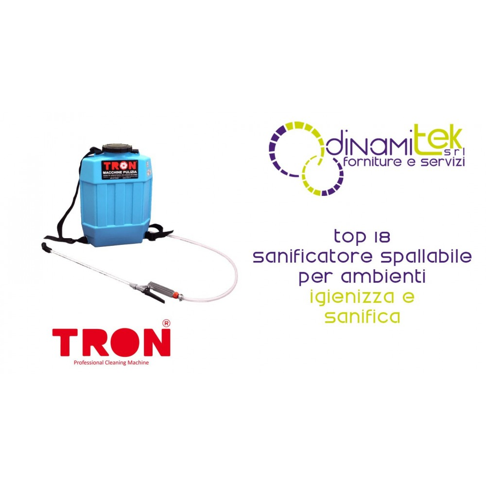 TOP 18 SANIFICATORE SPALLABILE BATTERIE-TRON Dinamitek 1