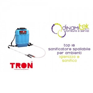 TOP 18 SANIFICATORE SPALLABILE TRON Dinamitek 1