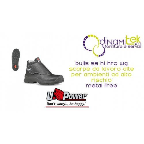 SO10213 BULLS S3 HI HRO WG SRC-SHOES U-POWER WORK HIGH Dinamitek 1