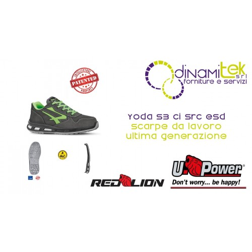 RL20174 YODA S3 CI SRC ESD WORK SHOES-U-POWER Dinamitek 1