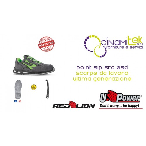RL20036 POINT S1P SRC ESD CHAUSSURES DE TRAVAIL-U-POWER Dinamitek 1