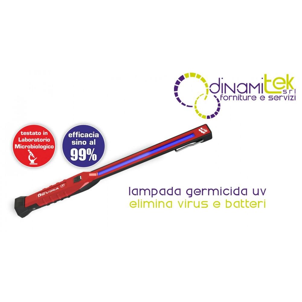 LAMPE GERMICIDE UV RECHARGEABLE DEVIRA FRY Dinamitek 1
