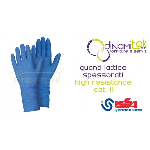 07250 THICKENED HIGH RESISTANCE GLOVES CAT. III Dinamitek 1