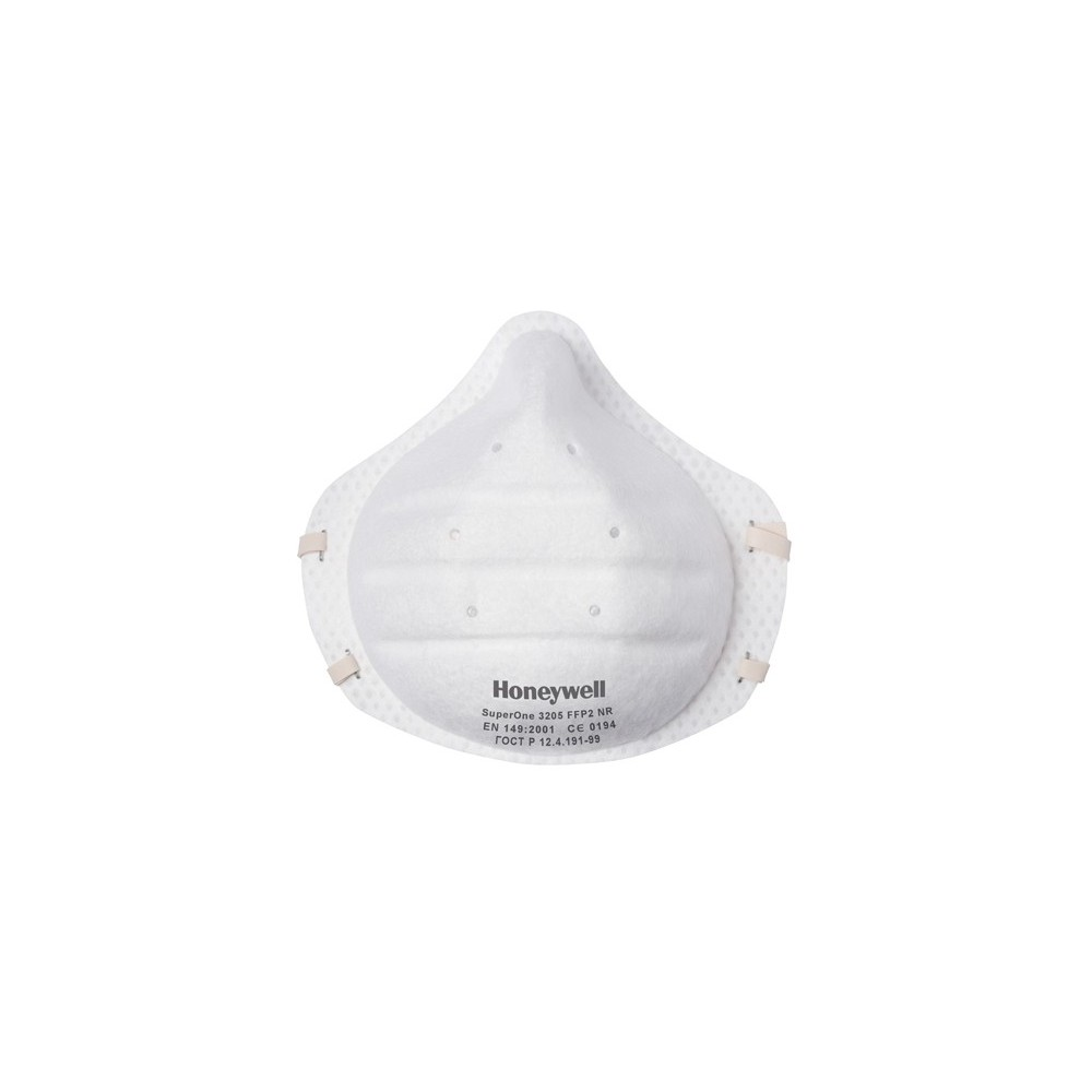 1013205 3205 V1 RESPIRATEUR FACIAL SUPERONE FFP2 NR HONEYWELL Dinamitek 2