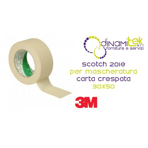201E-SCOTCH NASTRO CARTA CRESPATA EX 2321-30 X 50 3M Dinamitek 1