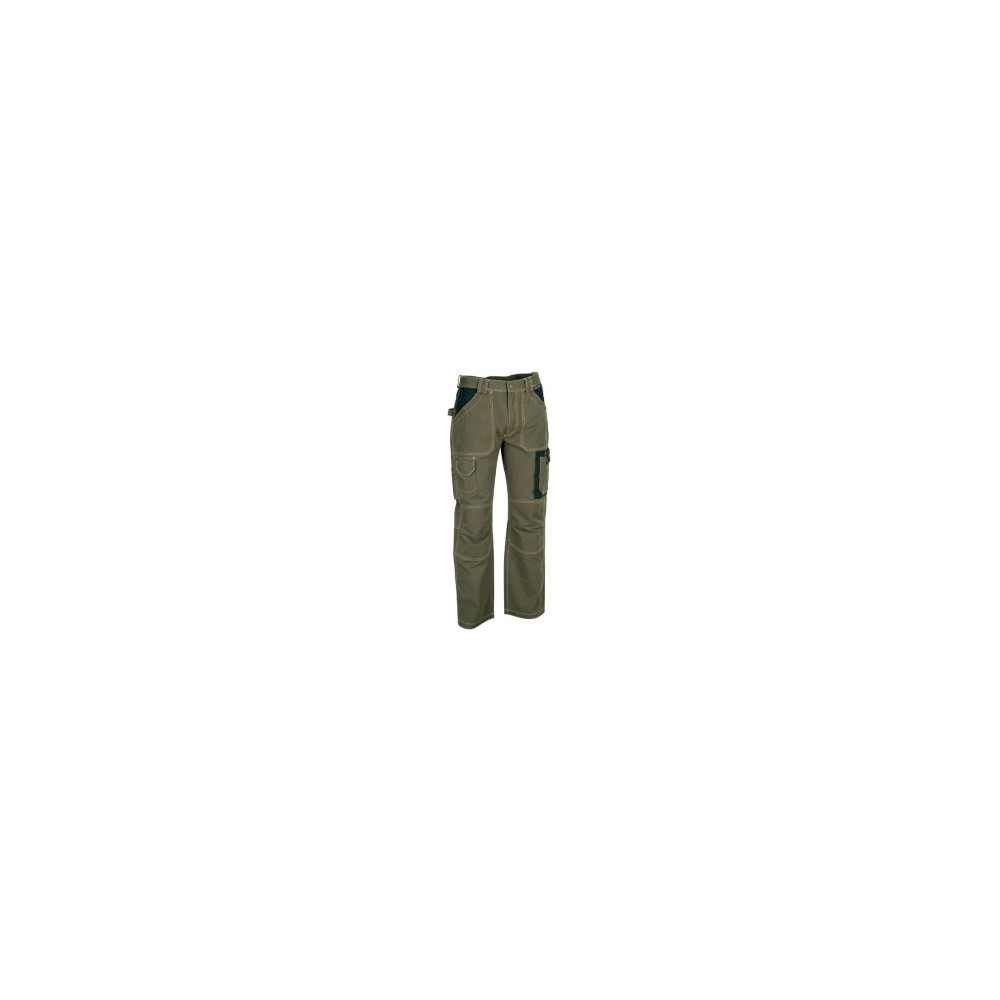WORK TROUSERS IN DURABLE COTTON CANVAS DUBLIN COFRA Dinamitek 2