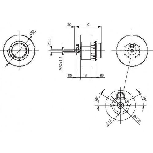 ZETEK_KTL035-12_TORCIA_A_LED_PLASTICA_GRANDE_Dinamitek_1