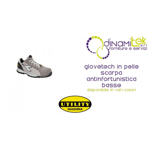 SCARPA ANTINFORTUNISTICA GLOVE TECH S1-P HRO SRA LEATHER DIADORA UTILITY Dinamitek 1