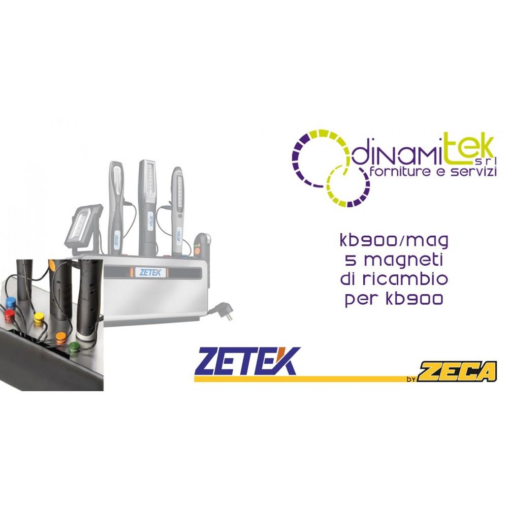KB900/MAG MAGNETI COLORATI DI RICAMBIO PER BASE KB900 ZETEK Dinamitek 1