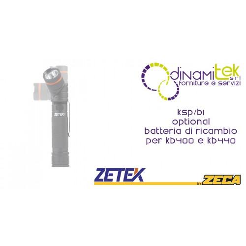 KSP/B1 BATTERIA DI RICAMBIO PER KB400 E KB440 ZETEK Dinamitek 1