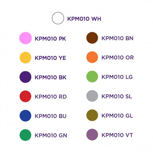 KPMP010 PENNARELLO MARCATORE INDELEBILE COLORE A SCELTA ZETEK Dinamitek 3